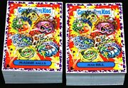 2019 Garbage Pail Kids We Hate The 90and039s Purple Jelly Complete Set 220 Cards Rare