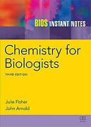 Bios Instant Notes In Chemistry For Biologists By Julie Fisher English Paperba