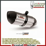 Mivv Complete Exhaust Suono Stainless Steel For Yamaha Mt-09 2013 2018