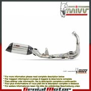 Mivv Steel Complete Exhaust Suono Stainless Steel Yamaha Yzf 600 R6 2006 2016