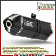 Mivv Approved Exhaust Mufflers Speed Edge Black Triumph Speed Triple 2016 2018