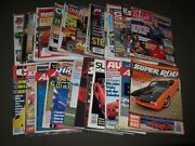 1970s-2000s Assorted Car Magazine Lot Of 52 - Great Covers And Photos - Pb 50o
