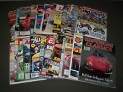 1970s-2000s Assorted Car Magazine Lot Of 50 - Great Covers And Photos - Pb 50p