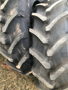 480/80r46 Trelleborg Tm600 18.4-46 Tractor Tires 2-tires New Takeoff
