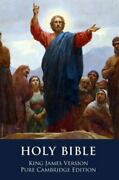 The Holy Bible King James Version, Pure Cambridge Edition Hardback Or Cased Bo