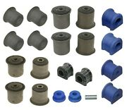 For Jeep Wrangler Front And Rear Control Arm Bushings And Sway Bar Bushings Moog Kit