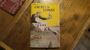 Circa 1949 Motor Courts And Lodges For The State Of Texas Tx Hwy Deptcamper