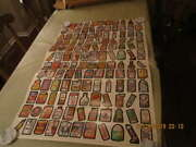 Uncut Topps Wacky Packages 1979 Uncut Sheet 132 Stickers 2 Complete Sets