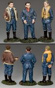 King And Country Royal Air Force Raf075 R.a.f. A Trio Of Aces Mib
