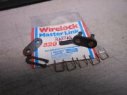 Chain Gang Whitney Dresser Wirelock Wire Lock Chain Master Link Joint 520 Radial