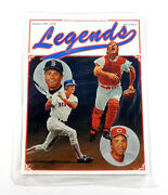Christopher Paluso Signed Legends Sports Memorabilia Summer 1989 Issue Sealed