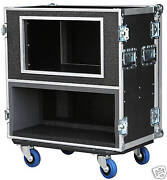Ata Case For Line 6 Spider Valve Hd100/ 12 Space Shock Rack New 3/8