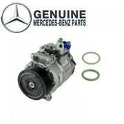 New A/c Compressor With Clutch And Two O-rings For Mercedesx164 W164 W251 Genuine