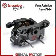 Calipers Rear Break Brembo Racing P2 24 Without Pad