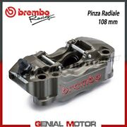 Radial Brake Caliper Brembo Racing Left Obtained By Cnc P4 30/34 108 Mm No Pad