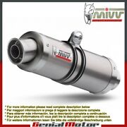 Mivv Approved Exhaust Mufflers Gp Titanium High Ducati Monster 620 2003 03