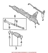For Bmw Genuine Rack And Pinion Assembly 32136757651