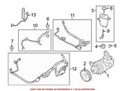 For Bmw Genuine Power Steering Pump Front 32416776172