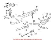 For Bmw Genuine Catalytic Converter Right 18327848149