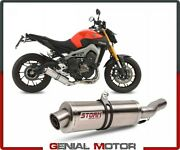 Full System Storm By Mivv Muffler Oval Steel Complete Yamaha Mt-09 2015 15