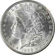 1900 Morgan Dollar Bu Uncirculated Mint State 90 Silver 1 Us Coin Collectible
