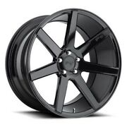20 Staggered Niche M168 Verona Black Wheels And Tires