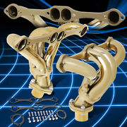 J2 For 23-49 Street Rod Sbc Chevy Engines Exhaust Header Manifold Replacement