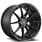 20 Niche M196 Sector Matte Black Wheels And Tires