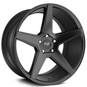 20 Staggered Niche M185 Carini Matte Black Wheels And Tires