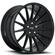 20 Staggered Niche M214 Form Black Wheels And Tires