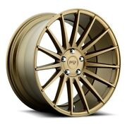 20 Staggered Niche M158 Form Bronze Wheels And Tires