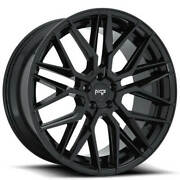 20 Staggered Niche M224 Gamma Black Wheels And Tires