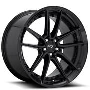 20 Staggered Niche M223 Dfs Black Wheels And Tires