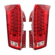 Left And Right Genuine Tail Brake Lamps Lights Pair Set For Cadillac Srx 10-16 Gm