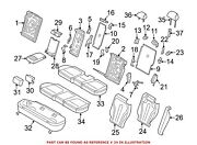 For Bmw Genuine Seat Cover Center 52207353358