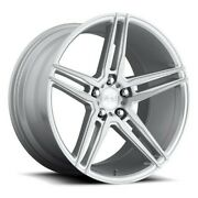 4rims 20 Niche M170 Turin Brushed Silver Wheels And Tires