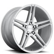 4rims 19 Niche M170 Turin Brushed Silver Wheels And Tires