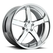 4rims 20 Staggered Niche M171 Pantano Chrome Wheels And Tires