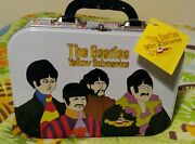The Beatles Yellow Submarine Tin Tote, Great Condition With Tags