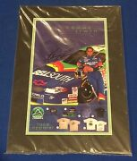 Kenny Irwin Signed Matted Bellsouth Hero Card W/ Sgc Coa