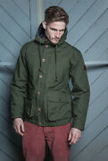 Realm And Empire Sapper Water Resistant Bomber Jacket In Rifle Green Rrpandpound180 Sale