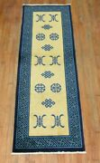 Antique Chinese Peking Rug Size 2and0396and039and039x7and0395and039and039