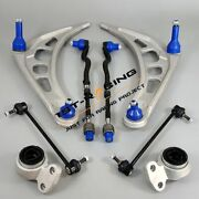 For Bmw 3 Series E46 Front Lower Suspension Wishbone Arms Bushes And Links Kit