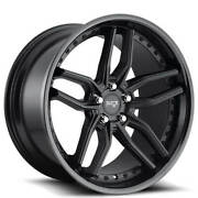 Qty4 19 Staggered Niche M194 Methos Matte Black Wheels And Tires