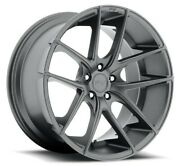 4/set 20 Staggered Niche M129 Targa Anthracite Wheels And Tires