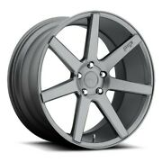4/set 20 Staggered Niche M149 Verona Anthracite Wheels And Tires