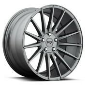 4/set 20 Staggered Niche M157 Form Charcoal Wheels And Tires
