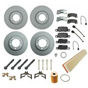 Custom Kit For Porsche Panamera Complete Brake Kit And Engine Air And Oil Filters