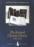 Bowers And Merena Armand Champa Library Collection Auction Catalogues Part 1 And 2