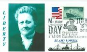 Amy Lowell Ship Named For American Woman Poet Portrait First Day Of Issue Pm